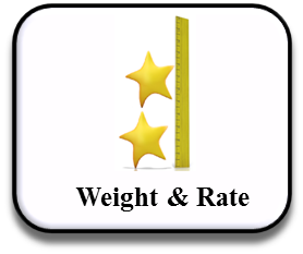 Weight and Rate