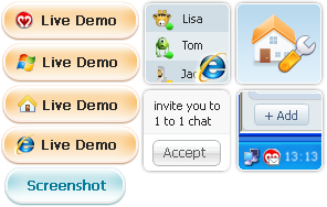 123 Web Messenger Demo